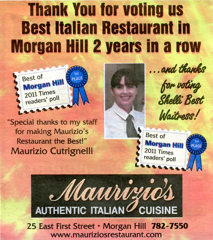 Best Restaurant Morgan Hill